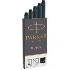 Черные картриджи с чернилами Parker (Паркер) Long Black ink