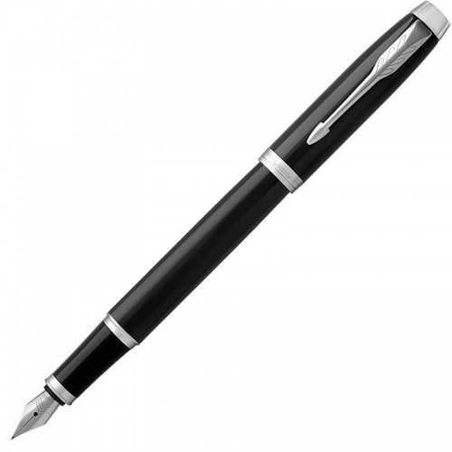 Перьевая ручка Parker (Паркер) IM Core Black Chrome CT F в Новосибирске