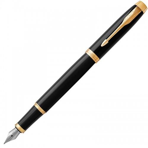 Перьевая ручка Parker (Паркер) IM Core Black GT F в Новосибирске