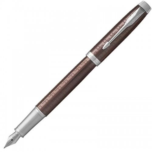 Перьевая ручка Parker (Паркер) IM Premium Brown CT F в Новосибирске