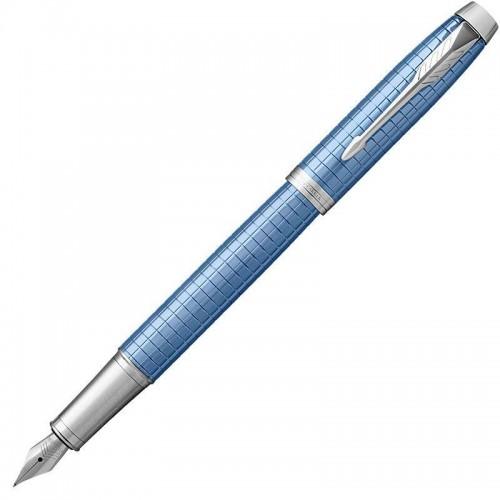 Перьевая ручка Parker (Паркер) IM Premium Blue CT F в Новосибирске