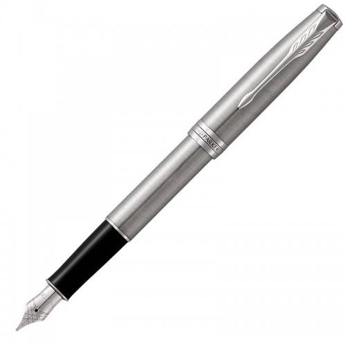 Перьевая ручка Parker (Паркер) Sonnet Core Stainless Steel CT F в Новосибирске