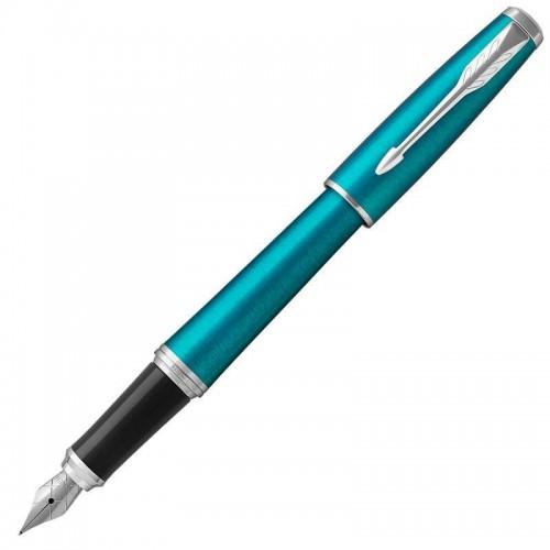 Перьевая ручка Parker (Паркер) Urban Vibrant Blue CT F в Новосибирске