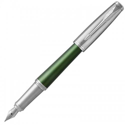 Перьевая ручка Parker (Паркер) Urban Premium Green CT F в Новосибирске