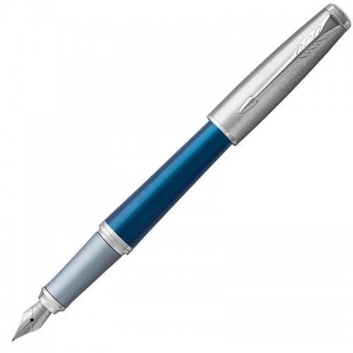 Перьевая ручка Parker (Паркер) Urban Premium Dark Blue CT F в Новосибирске