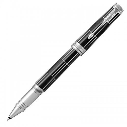 Ручка-роллер Parker (Паркер) Premier Luxury Black CT в Новосибирске