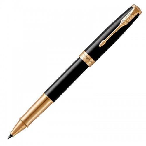 Ручка-роллер Parker (Паркер) Sonnet Core Black Lacquer GT в Новосибирске