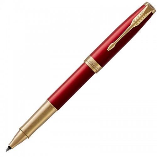 Ручка-роллер Parker (Паркер) Sonnet Core Red Lacquer GT в Новосибирске