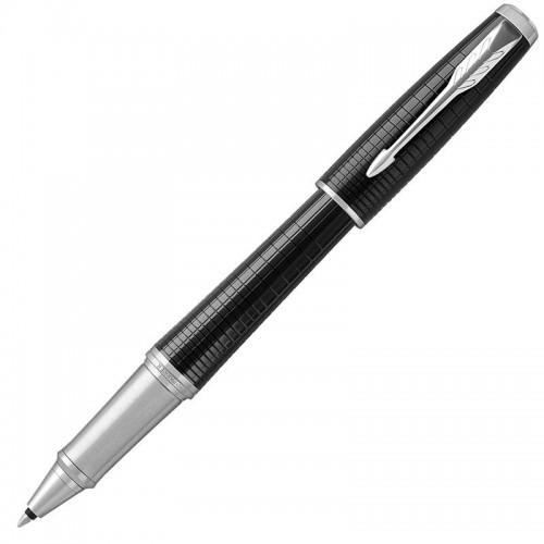 Ручка-роллер Parker (Паркер) Urban Premium Ebony Metal Chiselled CT в Новосибирске