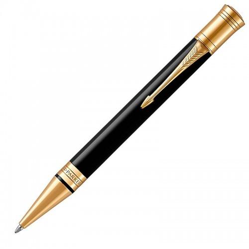 Шариковая ручка Parker (Паркер) Duofold Classic Black GT в Новосибирске