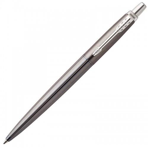 Шариковая ручка Parker (Паркер) Jotter Gel Premium Oxford Grey Pinstripe CT с гелевым стержнем в Новосибирске
