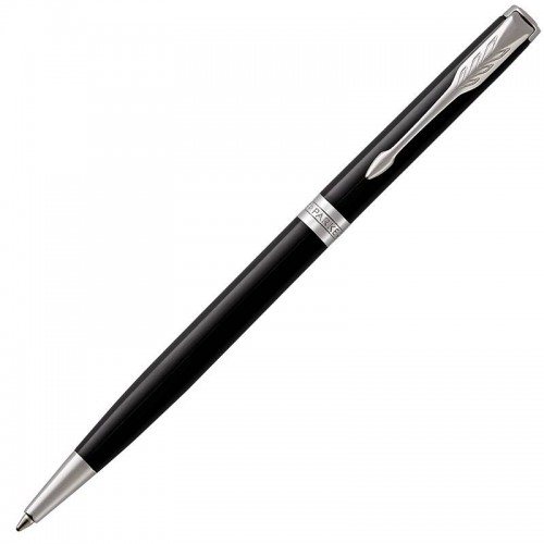 Шариковая ручка Parker (Паркер) Sonnet Core Slim Black Lacquer CT в Новосибирске