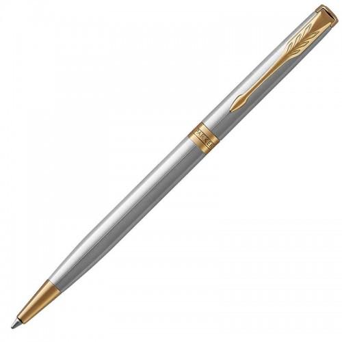Шариковая ручка Parker (Паркер) Sonnet Core Slim Stainless Steel GT в Новосибирске