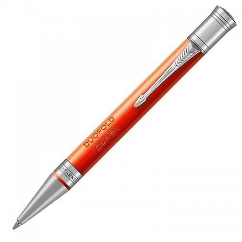 Шариковая ручка Parker (Паркер) Duofold Classic Big Red Vintage CT в Новосибирске