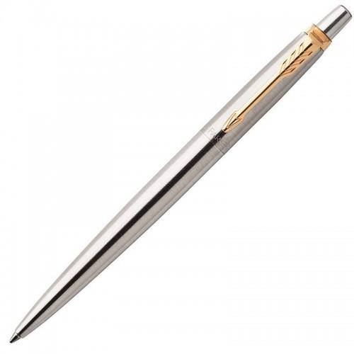 Шариковая ручка Parker (Паркер) Jotter Core Stainless Steel GT в Новосибирске
