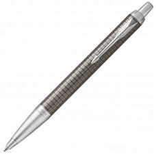 Шариковая ручка Parker (Паркер) IM Premium Dark Espresso Chiselled CT
