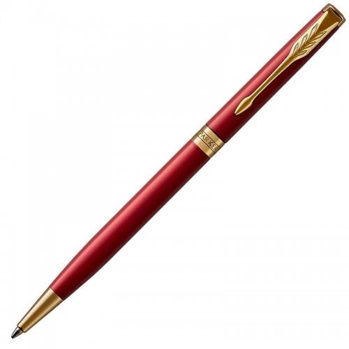 Шариковая ручка Parker (Паркер) Sonnet Core Slim Red Lacquer GT в Новосибирске