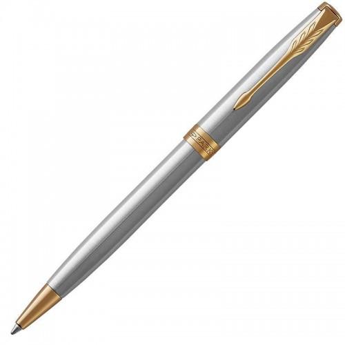 Шариковая ручка Parker (Паркер) Sonnet Core Stainless Steel GT в Новосибирске
