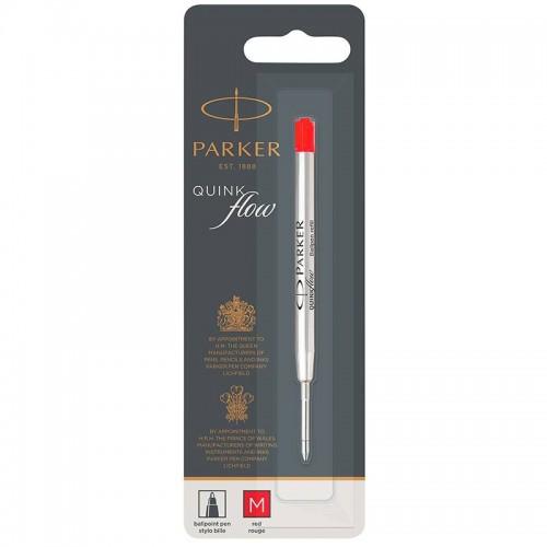 Красный шариковый стержень Parker (Паркер) Ball Pen Refill QuinkFlow Premium M Red в Новосибирске