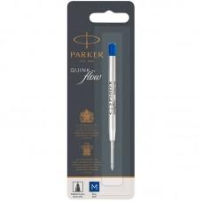 Синий шариковый стержень Parker (Паркер) Ball Pen Refill QuinkFlow Premium M Blue